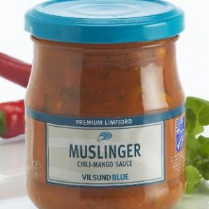 Muslinger chili og mango(200g) - Limfjordsmuslinger - Glyngøre Shellfish